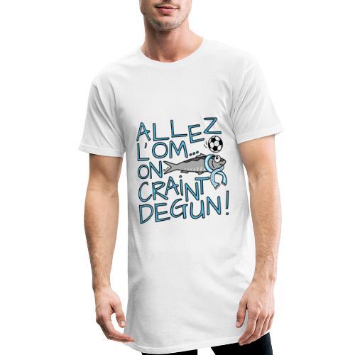 T-shirt long Homme Allez l'OM, On Craint Degun - T-shirt long Homme