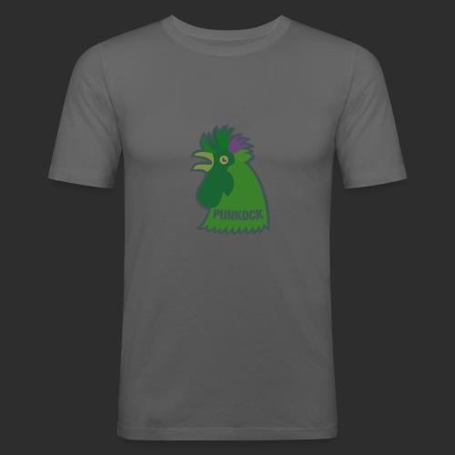 punk hahn - Männer Slim Fit T-Shirt
