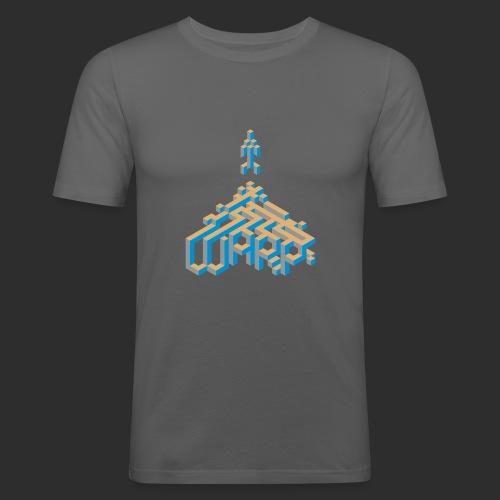warp - Männer Slim Fit T-Shirt