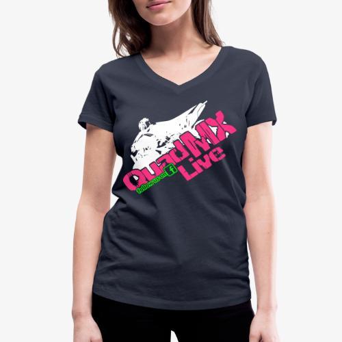 Frauen Shirt - Frauen Bio-T-Shirt mit V-Ausschnitt von Stanley & Stella