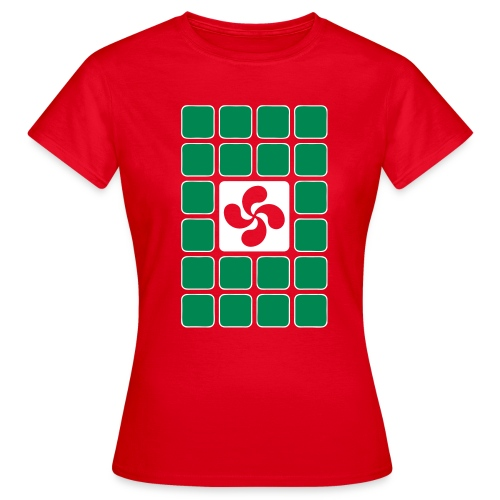Damier Basque - T-shirt Femme
