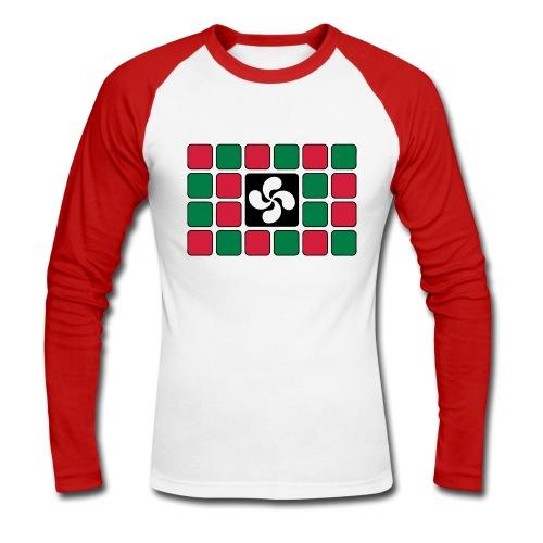 Damier Basque - T-shirt baseball manches longues Homme