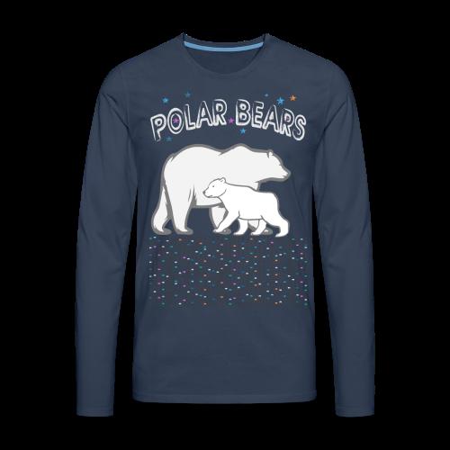 POLAR BEARS - Männer Premium Langarmshirt