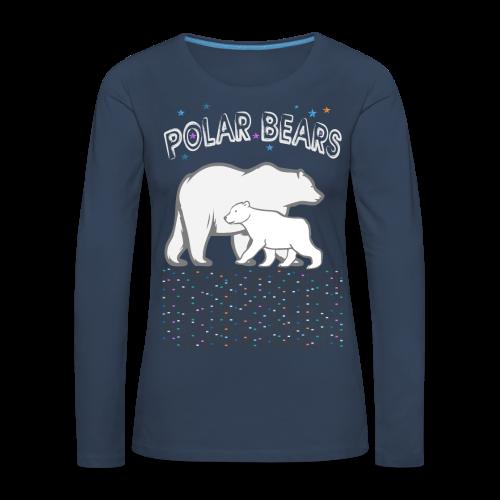 POLAR BEARS - Frauen Premium Langarmshirt