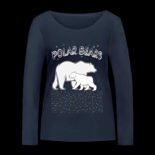 POLAR BEARS - Frauen Bio-Langarmshirt von Stanley & Stella