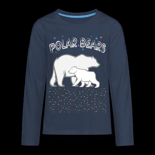 POLAR BEARS TEEN - Teenager Premium Langarmshirt