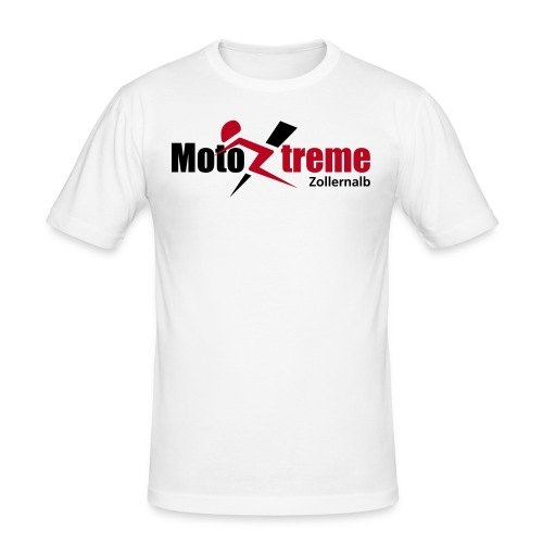 Männer Slim Fit T-Shirt, Logo vorne - Männer Slim Fit T-Shirt