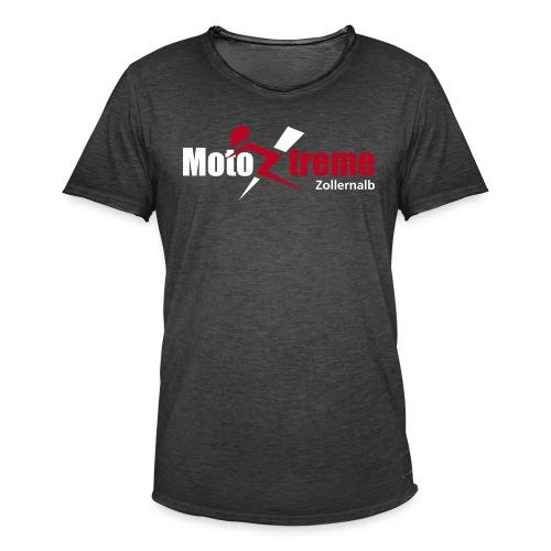 Männer Vintage T-Shirt, Logo vorne - Männer Vintage T-Shirt
