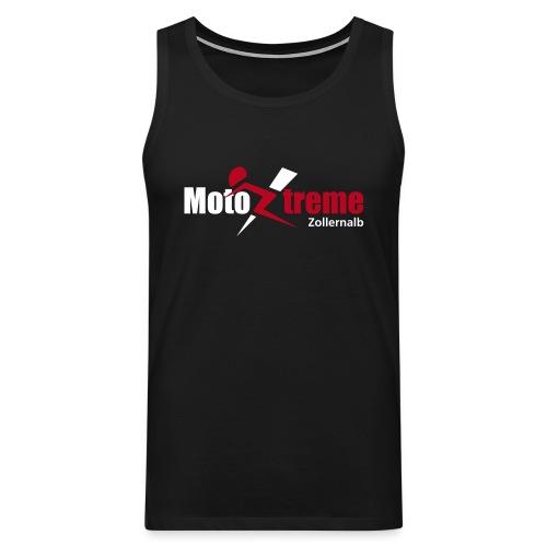 Männer Premium Tank Top; Logo vorne - Männer Premium Tank Top