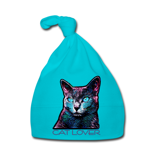 CAT LOVER MULTICOLOR - Baby Mütze
