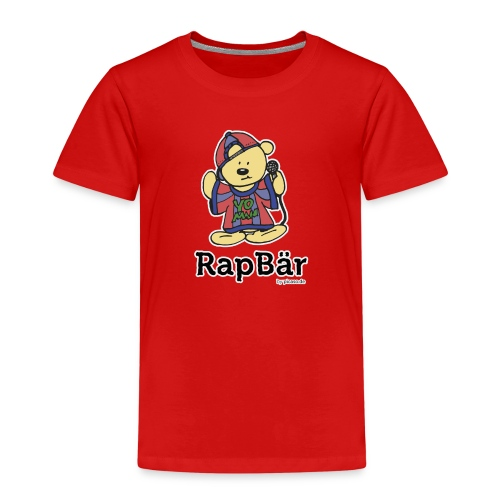 RapBär T-Shirt | for Kids - Kinder Premium T-Shirt