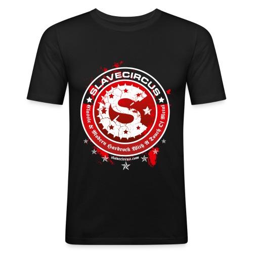 Slavecircus D3 - Männer Slim Fit T-Shirt