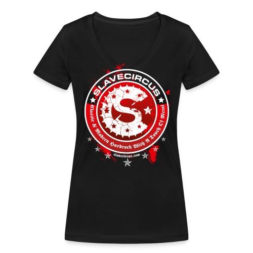 Slavecircus D3 - Frauen Bio-T-Shirt mit V-Ausschnitt von Stanley & Stella