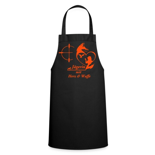 Grillschürze ORANGE - Kochschürze