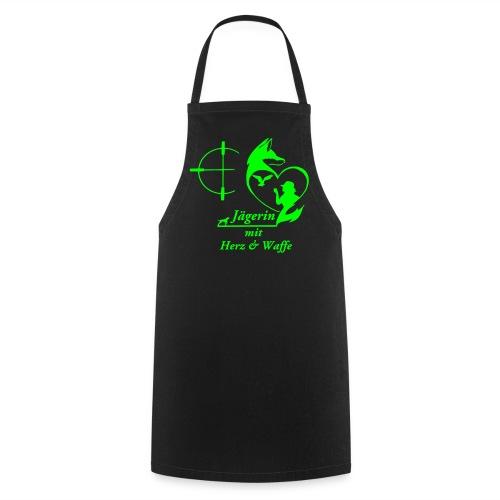 Grillschürze GRÜN - Kochschürze