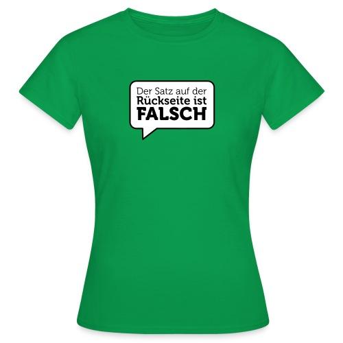 Paradox-Shirt für Frauen - Frauen T-Shirt