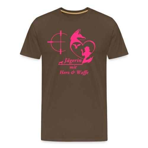 Boyfriend Shirt PINK - Männer Premium T-Shirt