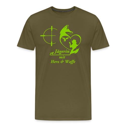 Boyfriend Shirt GRÜN - Männer Premium T-Shirt