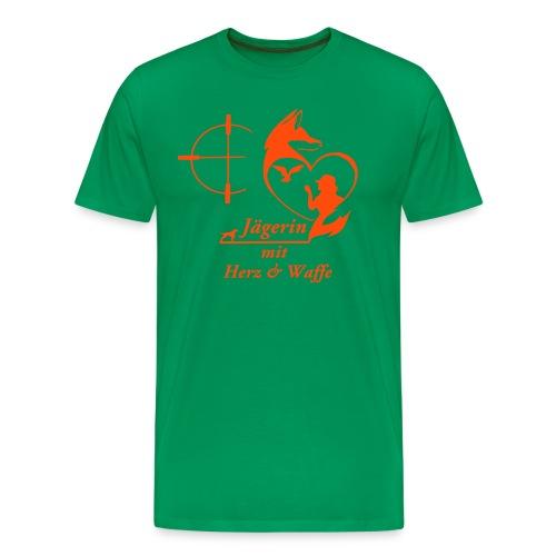Boyfriend Shirt ORANGE - Männer Premium T-Shirt