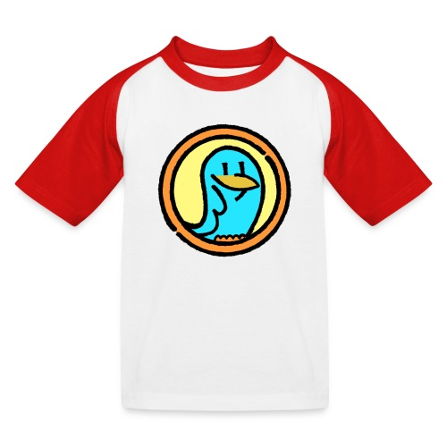 BlueLittleBird Vogel  - Kinder Baseball T-Shirt