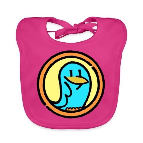 Baby Bio-Lätzchen - BlueLittleBird Vogel Cartoon Design,Vögel-Motive, Natur,design