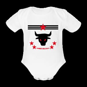 PROHIBITS BULLFIGHTS - Baby Bio-Kurzarm-Body