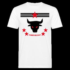 PROHIBITS BULLFIGHTS - Männer Bio-T-Shirt