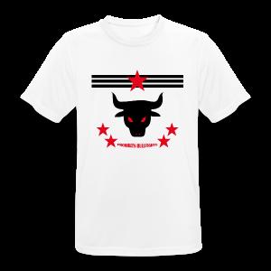 PROHIBITS BULLFIGHTS - Männer T-Shirt atmungsaktiv