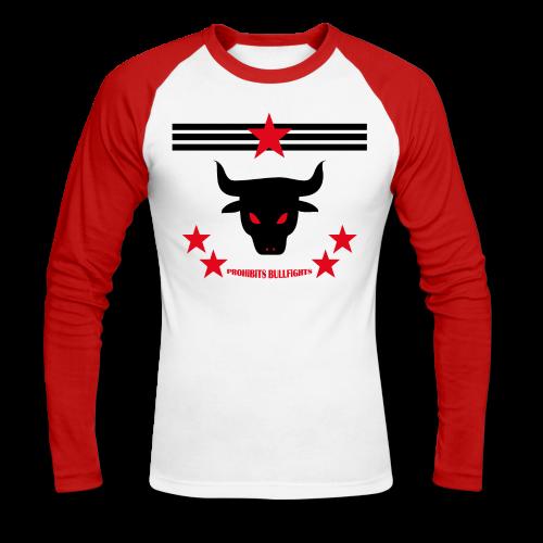 PROHIBITS BULLFIGHTS - Männer Baseballshirt langarm