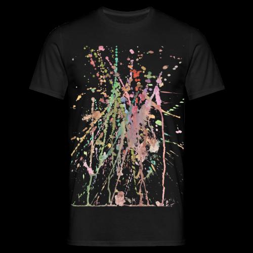 AQUARELLSPRITZER - Männer T-Shirt
