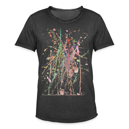 AQUARELLSPRITZER - Männer Vintage T-Shirt