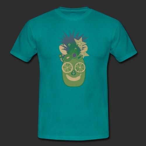 obst gesicht - Männer T-Shirt
