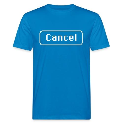 Cancel white - Men's Organic T-Shirt