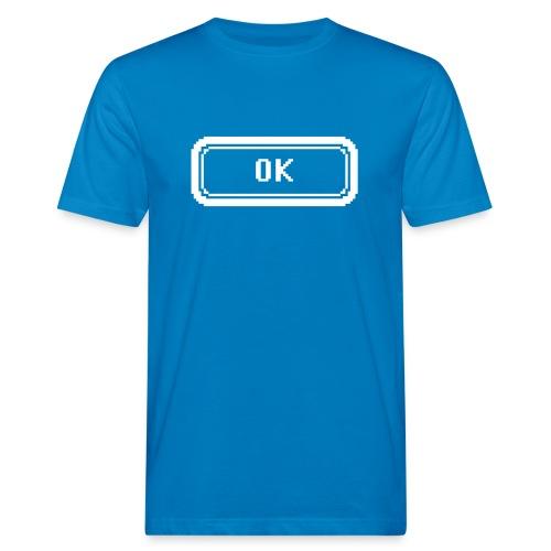 Ok white - Men's Organic T-Shirt
