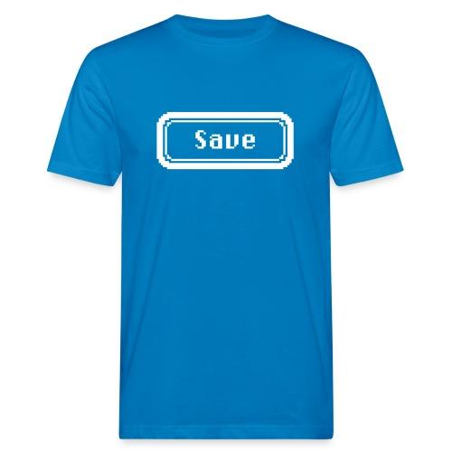 save white - Men's Organic T-Shirt