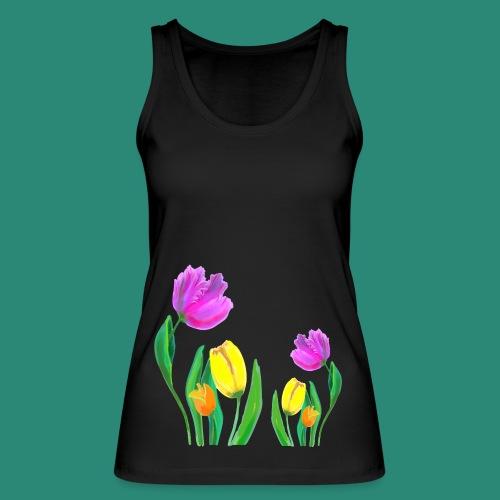 Mode mit Tulpen,Shirts und Tops und  Geschenke - Frauen Bio Tank Top von Stanley & Stella