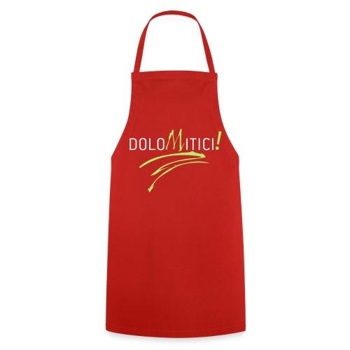 DoloMitici! Falda rossa - Grembiule da cucina