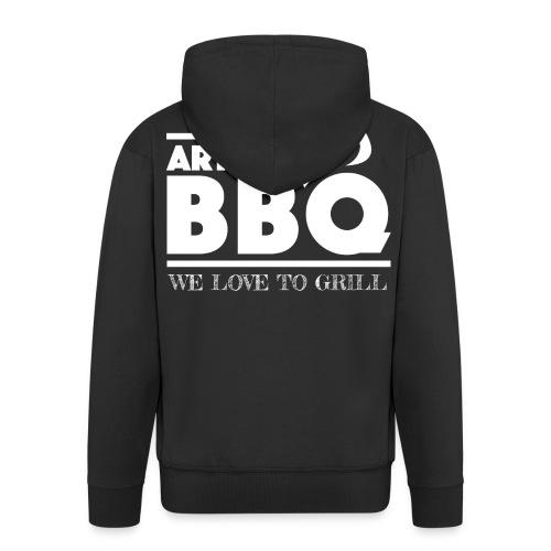 Art of BBQ Jacke  - Männer Premium Kapuzenjacke