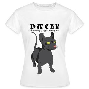 Dwelf Rotukissa t-paita - Naisten t-paita