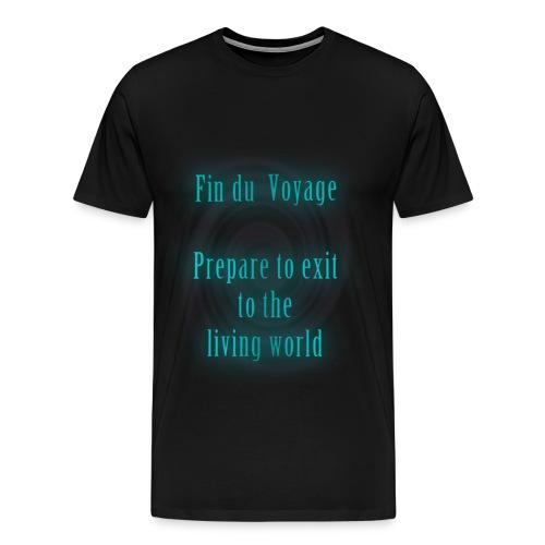 Fin du Voyage (M) - Mannen Premium T-shirt