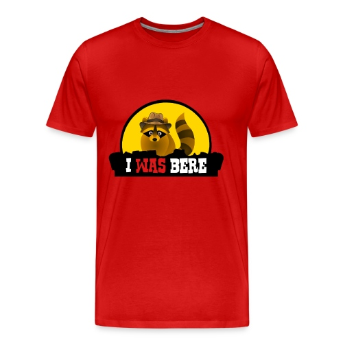 I was bere (M) - Mannen Premium T-shirt