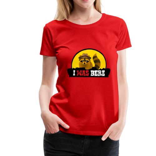 I was bere (V) - Vrouwen Premium T-shirt