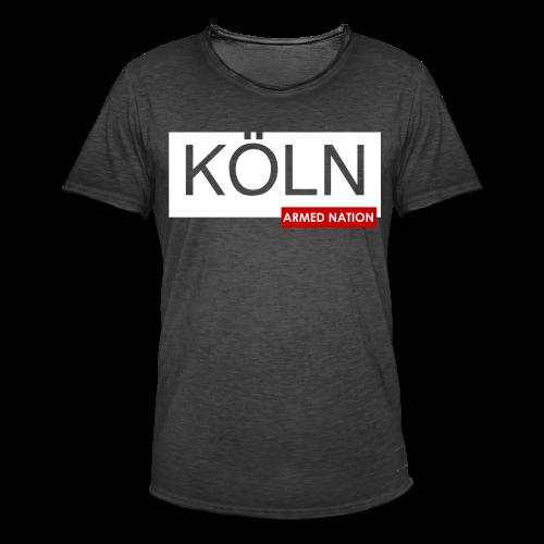 MEN VINTAGE SHIRT KÖLN GERMANY 2018 - Männer Vintage T-Shirt