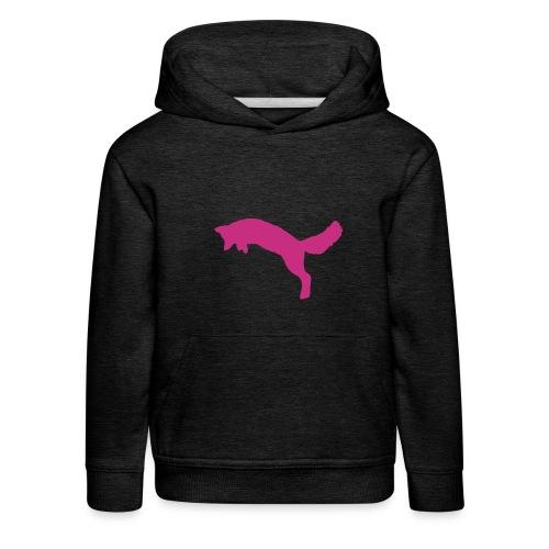 Fox Jägerkind PINK - Kinder Premium Hoodie