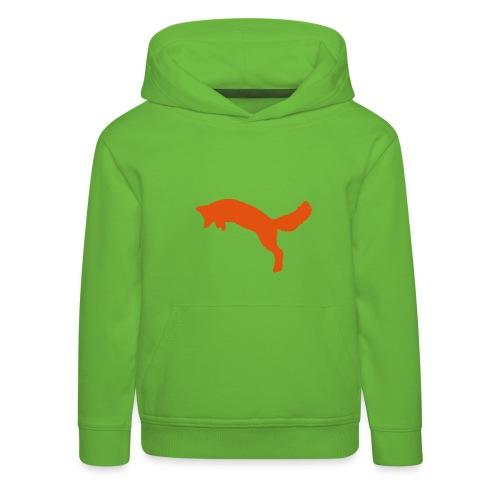 Fox Jägerkind ORANGE - Kinder Premium Hoodie