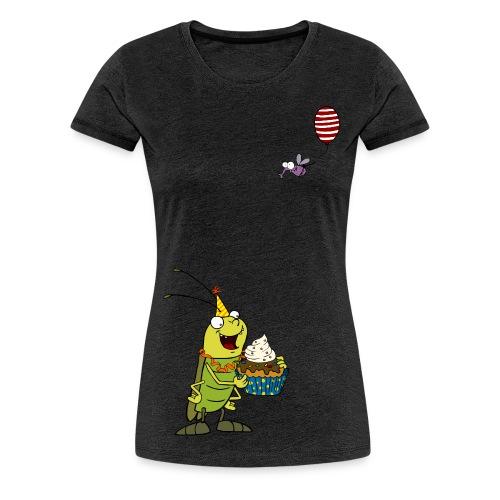 Damen-Shirt - Cupcake - Frauen Premium T-Shirt