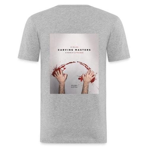 Carving Masters 2018 Slim T - Männer Slim Fit T-Shirt