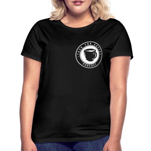 Svartsvart t-shirt (dam) - T-shirt dam