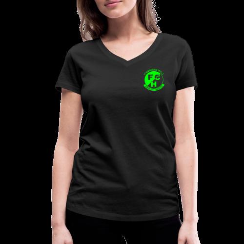 T-Shirt Firebirds für Frauen - Frauen Bio-T-Shirt mit V-Ausschnitt von Stanley & Stella