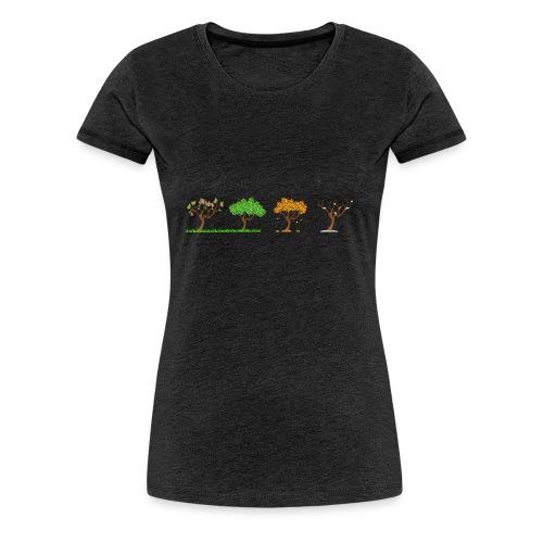 Tshirt 4 Jahreszeiten - Frauen Premium T-Shirt